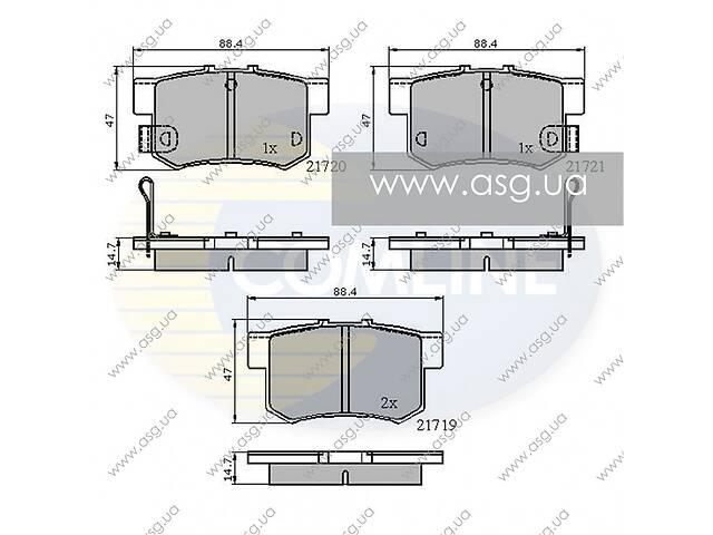продам CBP3445 Comline - Гальмівні колодки до дисків - Новое бу в Львове