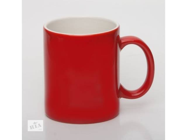 купить бу Чашки цветные с логотипом фирмы!  в Украине