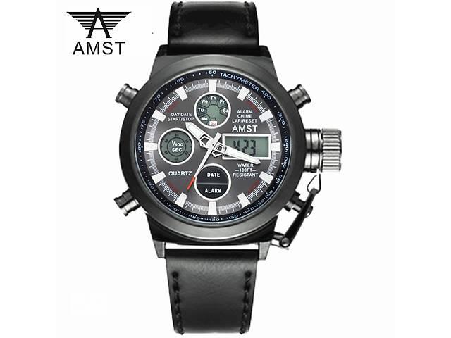 AMST 3003 оригінал! 50М армійські наручні чоловічі годинники АМСТ ... 882c15836bb59