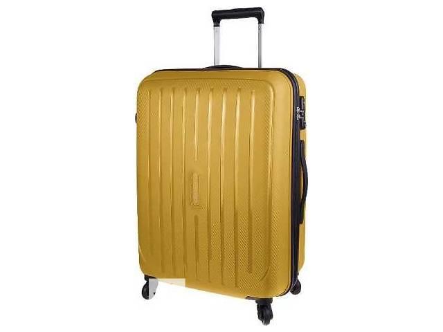 купить бу Чемодан 4-х колесный дорожный пластиковый Carlton Phoenix 239J465;93 в Киеве