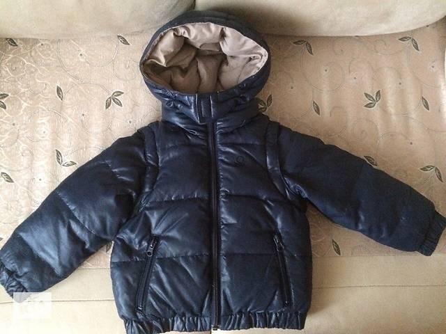 9b5263f36261 Демісезонна куртка трансформер Benetton - Дитячий одяг в Харкові на ...