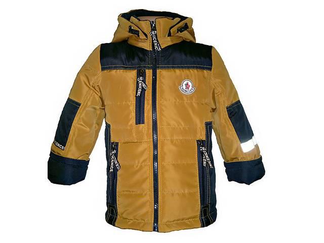 Демисезонные куртки на мальчика 1 - 9 лет