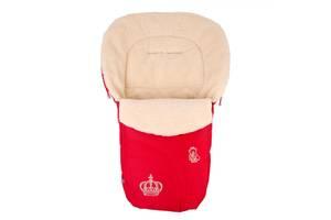 Конверт на овчине Baby Breeze 0356 красный