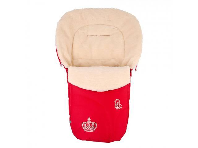 купить бу Конверт на овчине Baby Breeze 0356 красный в Дубні