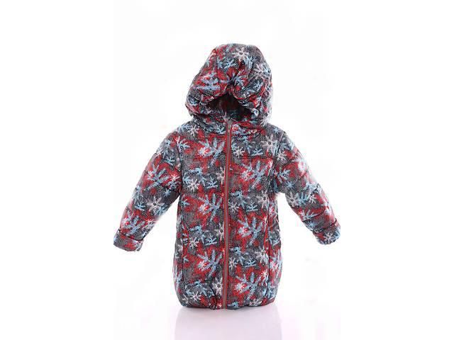 Куртка Евро для девочки серая в снежинку- объявление о продаже  в Львове