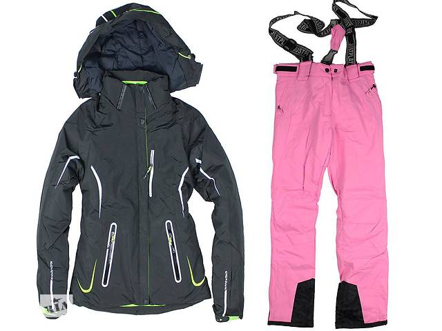 продам Лыжный костюм BLACK-PINK бу в Львове