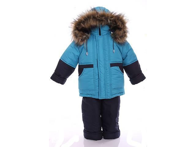 купить бу Зимний костюм для мальчика Классика бирюзовый в Одессе