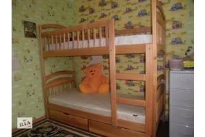 Акція! Ліжко Карина з матрацами і ящиками.