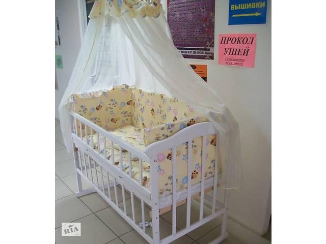 АКЦІЯ! Набір  Ліжечко БІЛА+ постільна 9в1 + матрац кокос - Дитячі ... dd646310edb2a
