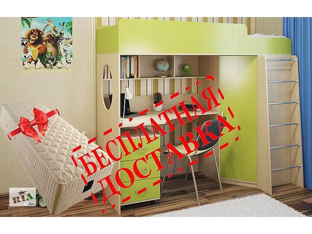 купить бу Бесплатно доставим кровать со столом в Киеве