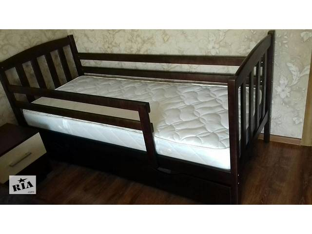 купить бу Дитяче ліжко Марсель з ящиками і знімними бортами! в Києві