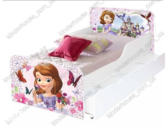 купить бу Детская кровать Принцесса София с бортиками Агора - бесплатная доставка! в Львове