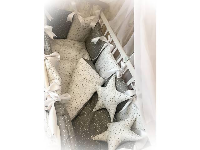 купить бу Детское постельное в кроватку Бонна Елит , набор в кроватку , защита в кроватку в Киеве