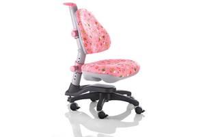 Детское регулируемое кресло растишка трансформер Goodwin KY-318 PF (розовый цветы)