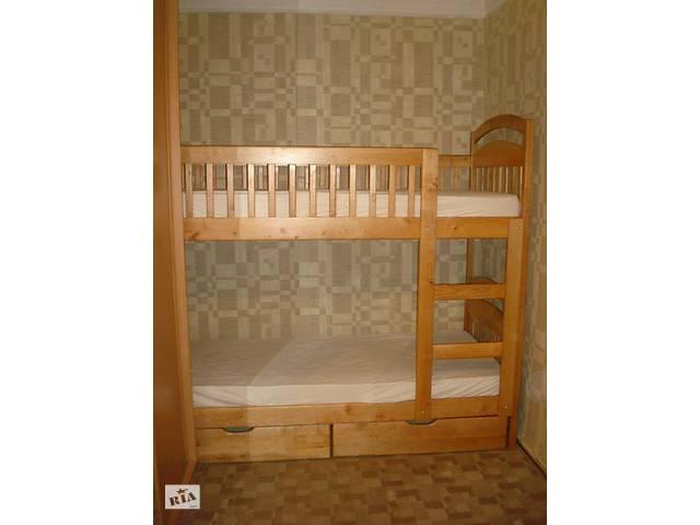 Двухьярусная кровать Карина с матрасами и ящиками.- объявление о продаже  в Василькове