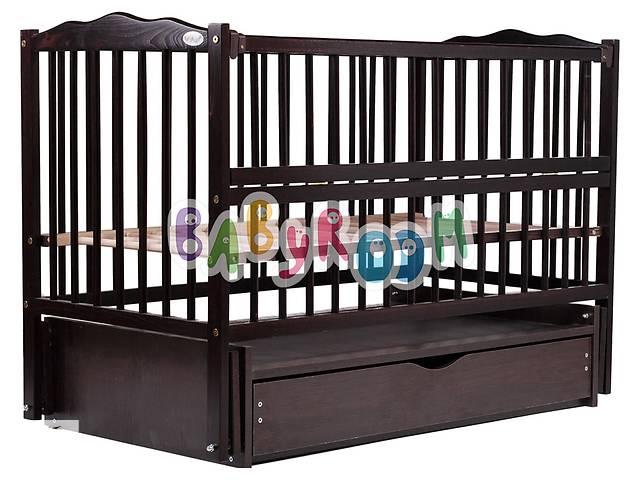 продам Кровать Babyroom Веселка маятник, ящик, откидной бок DVMYO-3  бук венге бу в Одессе