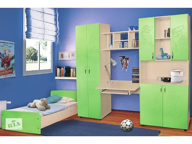 бу Мебель для детской комнаты Симба (МДФ). Стенка и кровать в детскую в Киеве