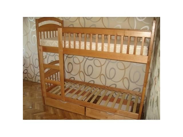 С ящиками двухъярусная кровать.- объявление о продаже  в Житомире