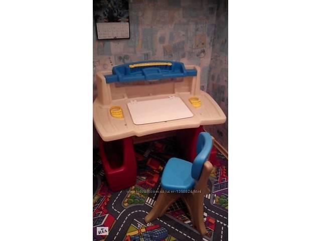 купить бу Столик для творчества Step2 Deluxe Art Master со стульчиком в Запорожье
