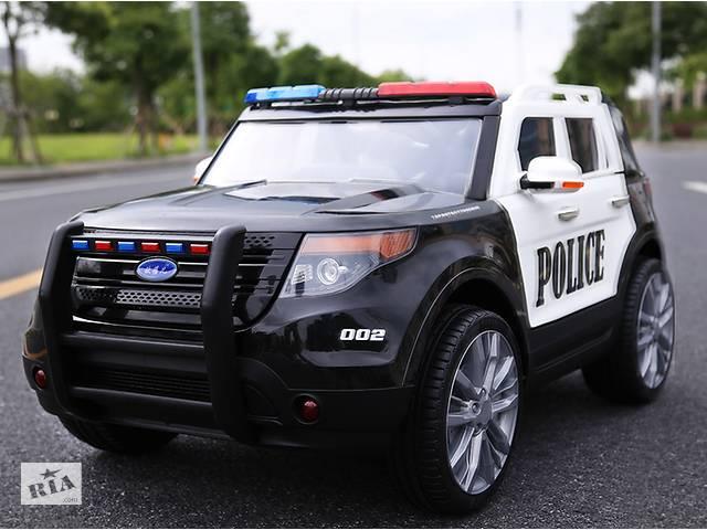 Детский электромобиль Police Ford Explorer CH9935 с громкоговорителем- объявление о продаже  в Львове