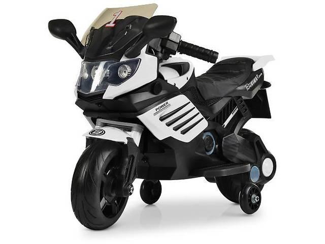 продам Детский мотоцикл BMW M 3582 EL-1, мягкие EVA колеса, черно-белый бу в Одессе