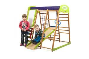 Детский спортивный комплекс для квартиры «Карамелька»  SportBaby