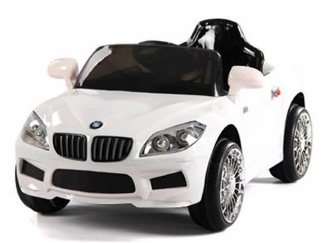 Эл-мобиль T-764 WHITE  легковая на Bluetooth 2.4G Р/У 6V4.5AH мотор 1*20W с MP3 105*60*50- объявление о продаже  в Одессе