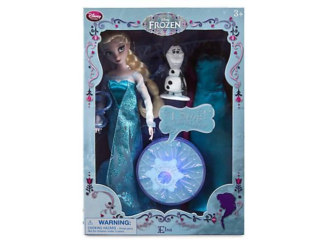 Холодное сердце кукла Эльза музыкальная- объявление о продаже  в Одессе