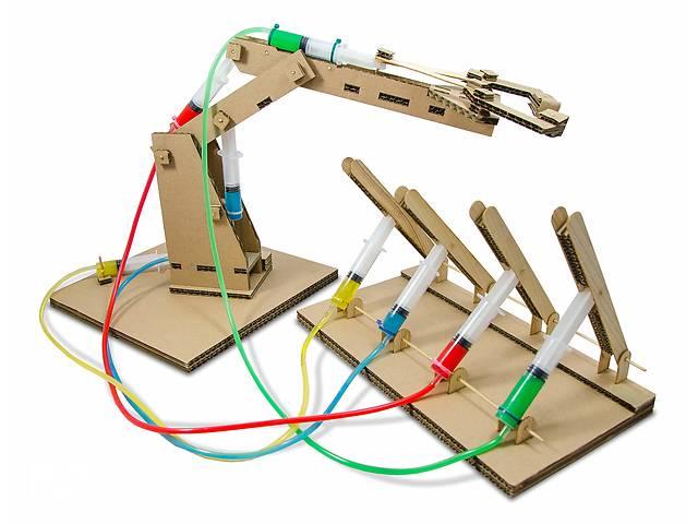 купить бу Конструктор «Гидравлик» –гидравлический робот-манипулятор в Киеве