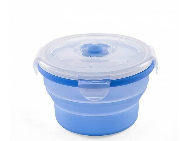 Контейнер-трансформер для еды Nuvita 6м+ 540мл. Синий (NV4468Blue)- объявление о продаже  в Киеве