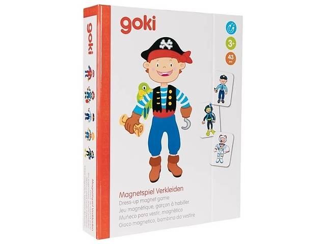 купить бу Магнитная книга goki Наряды для мальчика ( 58741G) в Киеве