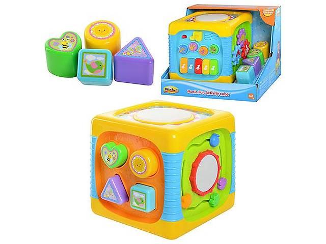 продам Музыкальный куб-сортер WinFun 0741 NL бу в Одессе