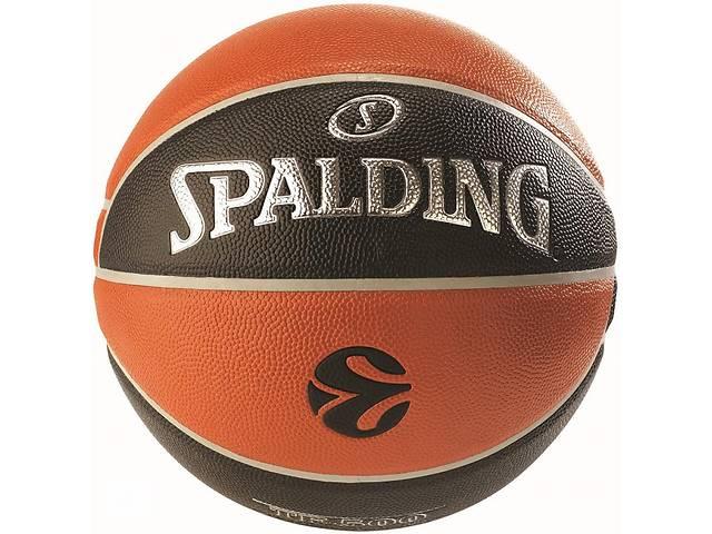 купить бу Мяч баскетбольный Spalding Euroleague TF-500 IN/OUT Size 7 в Дубно