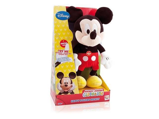 бу Мягкая игрушка Микки Маус - IMC Toys, Happy Sounds MIckey, Disney Art. azol-625657460 в Киеве