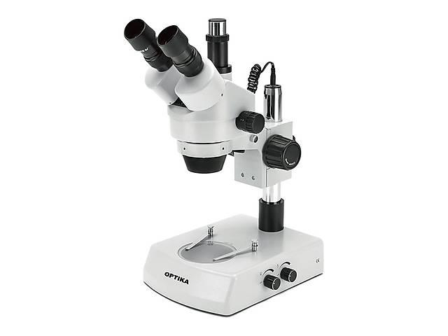 купить бу Микроскоп Optika SZM-2 7x-45x Trino Stereo Zoom в Киеве