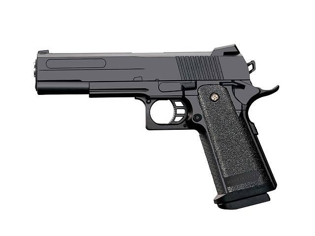 продам Пистолет метал-пластик J27 с пульками, в коробке 25,2*18,3*4,8 см бу в Чернигове