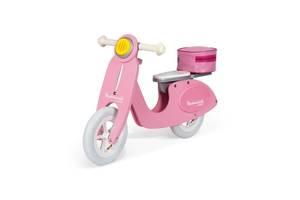 Толокар Janod Ретро скутер розовый (J03239)