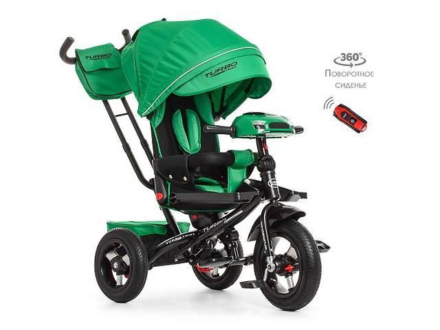 купить бу Велосипед трехколесный M 4060-11, колясочные, ПОВОРОТ СИДЕНЬЯ, USB, пульт в Днепре (Днепропетровск)