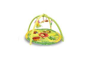 Игровой развивающий коврик LORELLI Garden 83х83
