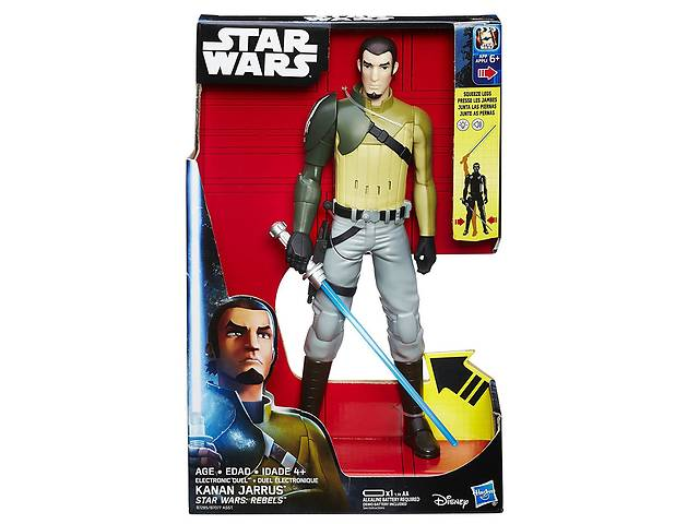 """бу Игрушка Кэнан Джаррус (свет, звук) """"Звездные Войны: Повстанцы"""" 30 см - Kanan Jarrus, Star Wars Rebels, Hasbro в Львове"""