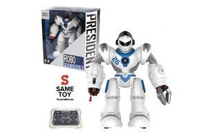 Интерактивная игрушка Same Toy Робот Дестроер на радиоуправлении (белый) (7088UT-2)
