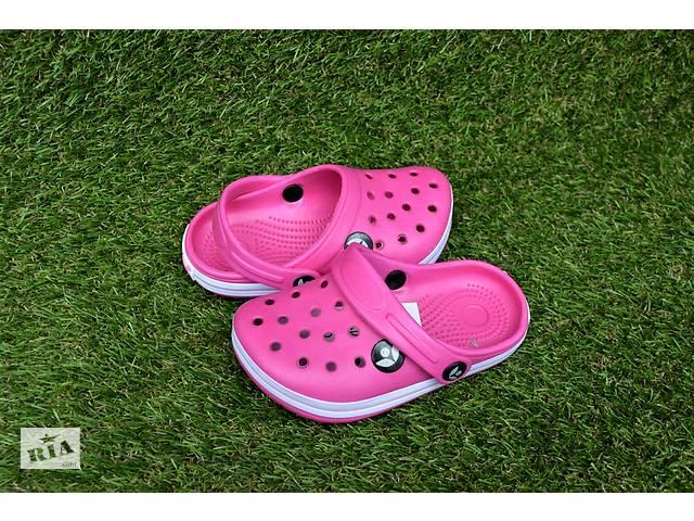Детская обувь кросы crocs малиновые р24-29- объявление о продаже  в Южноукраинске