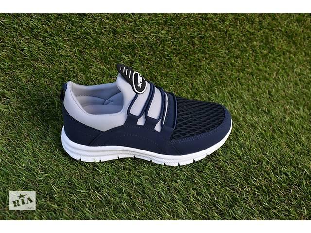 купить бу Детские кроссовки аналог Adidas адидас синие с белым сетка р31-35 в Южноукраинске