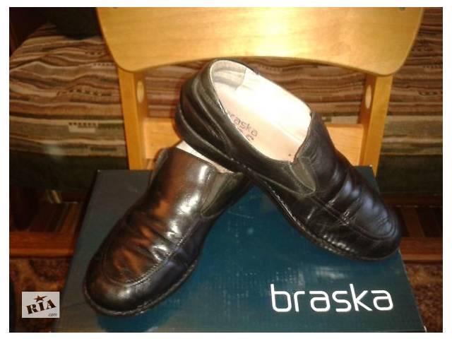 купить бу Туфли из натуральной кожи для школьника. Braska. 35 размер в Киеве