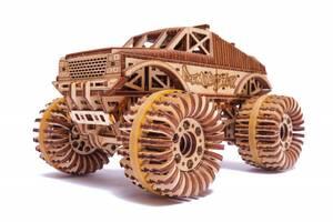 "3D пазл ""Монстр-Трак"" деревянный конструктор"