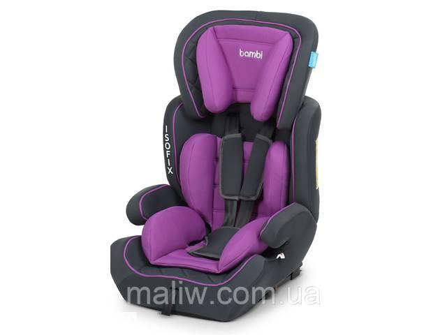 Автокресло Bambi M 4250 9-36 кг Isofix Purple- объявление о продаже   в Украине