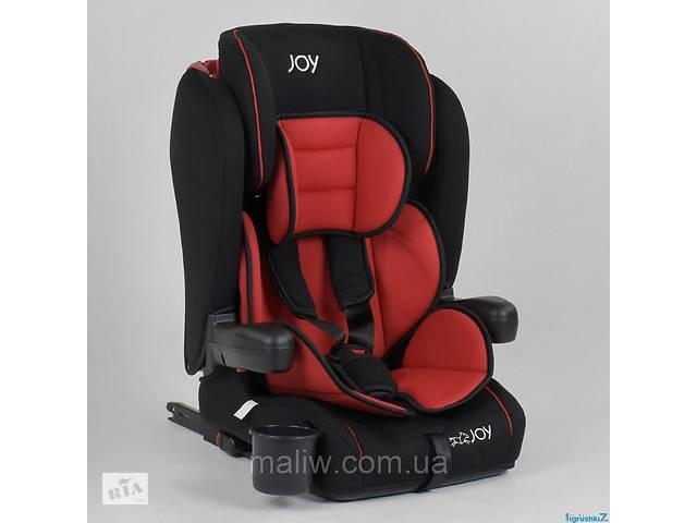 продам Автокресло детское Joy 96710 система ISOFIX черно-красное бу  в Украине