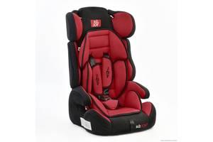 Автокресло универсальное Е 1120  Цвет чёрно-красный 9-36 кг, с бустером, Joy