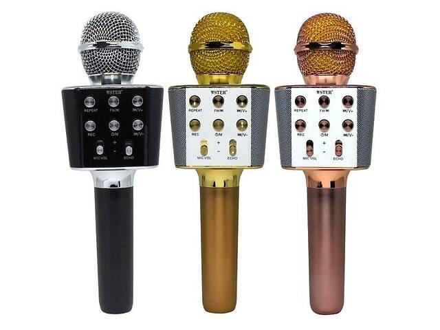 Беспроводной микрофон-караоке WSTER WS-1688 оригинал- объявление о продаже  в Харькове
