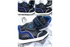 Ботинки кожаные осенние для мальчиков